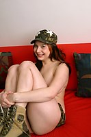 Abrianna Has Massive Army Girl Tits - Picture 4