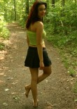 Abrianna Poses For Some Snappy Outdoor Upskirts - Picture 5
