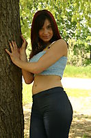 Hands Above Her Head Boob Tube Teen Cutie - Picture 4